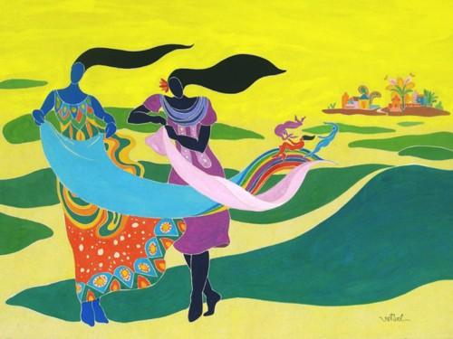 Данг Вьет Линь – художник мечты - ảnh 1