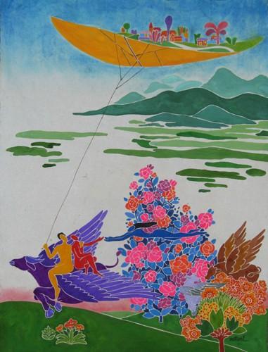 Данг Вьет Линь – художник мечты - ảnh 2