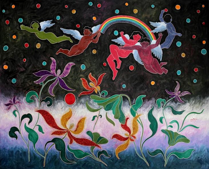 Данг Вьет Линь – художник мечты - ảnh 3