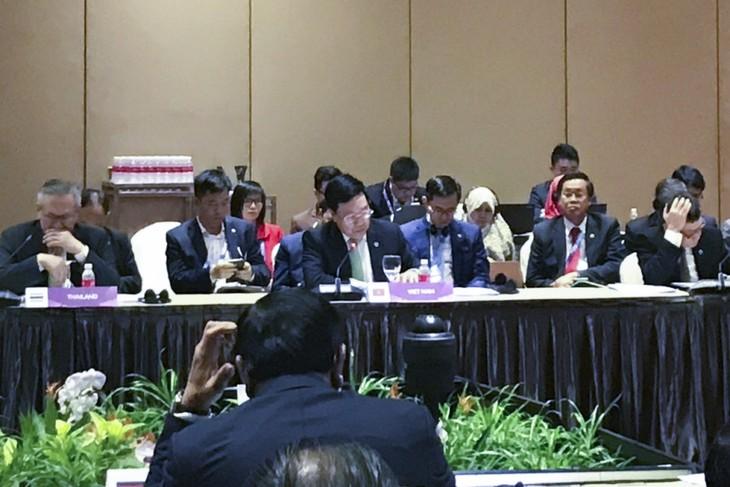 Состоялась 9-я конференция глав МИД стран бассейнов реки Меконг и реки Ганг - ảnh 1