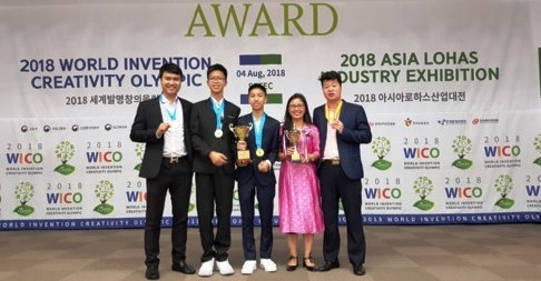 Представители Вьетнама достигли блестящих успехов на Международной Олимпиаде по новым открытиям - ảnh 1
