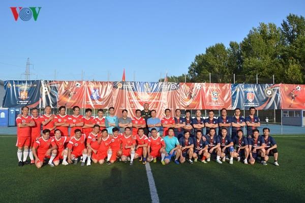 Завершился турнир по футболу для вьетнамской диаспоры в России 2018 - ảnh 1