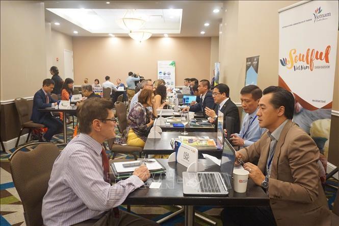 В Вашингтоне прошла программа «Вьетнам влюблённый» - ảnh 1