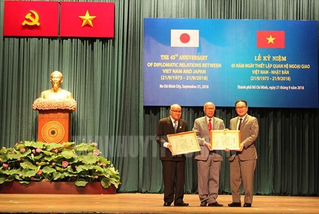 Вьетнам и Япония укрепляют дружбу - ảnh 1