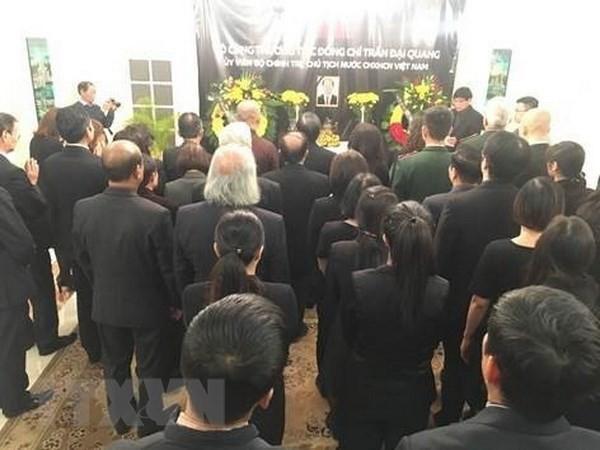 Генеральное консульство СРВ в Шанхае и посольство СРВ в Польше организовали церемонию прощания с Чан Дай Куангом - ảnh 1