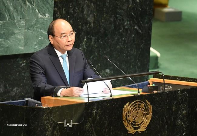 Премьер-министр Вьетнама Нгуен Суан Фук выступил на общих прениях 73-й сессии ГА ООН - ảnh 1
