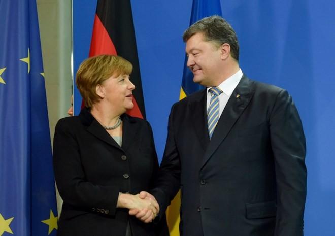 Президент Украины и канцлер ФРГ провели телефонный разговор - ảnh 1