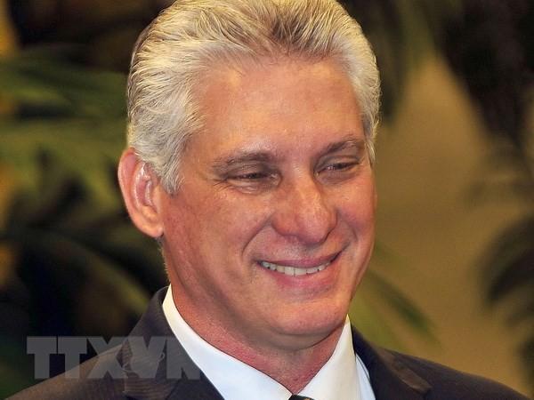 Председатель госсовета и совета министров Республики Куба начал официальный дружественный визит во Вьетнам - ảnh 1