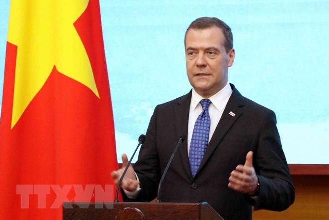 Дмитрий Медведев завершил официальный визит во Вьетнам - ảnh 1