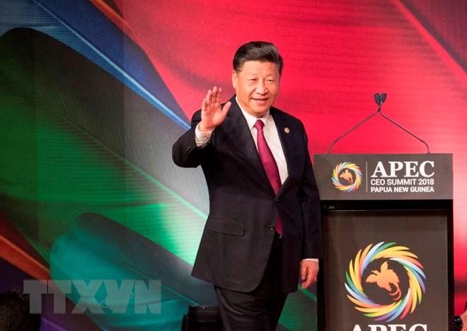Си Цзиньпин прибыл в Испанию с государственным визитом - ảnh 1