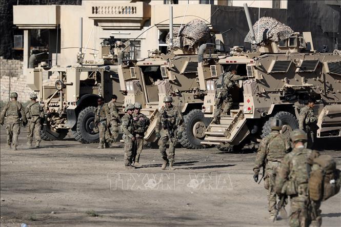 США создали две военные базы в Ираке - ảnh 1