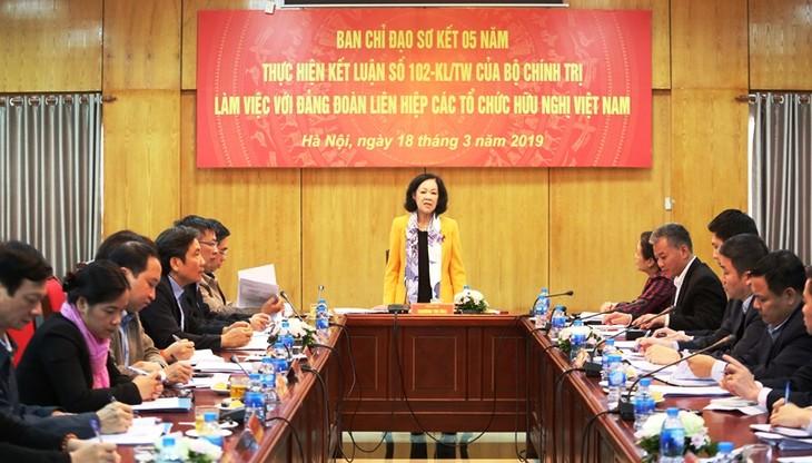 Союз обществ дружбы Вьетнама с зарубежными странами – мост, соединяющий народ Вьетнама с народами других стран   - ảnh 1