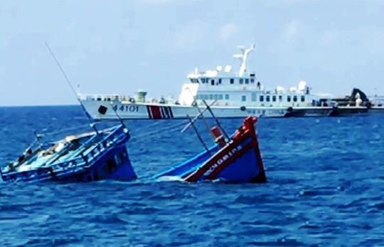 Вьетнам требует от Китая компенсацию за потопление рыболовной шхуны в Восточном море - ảnh 1