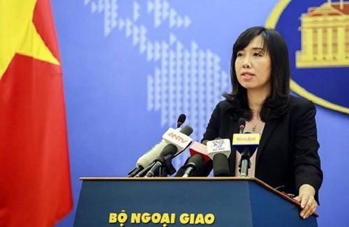 Вьетнам решительно выступает против проведенных Тайванем (Китай) учений с боевой стрельбой на острове Бабинь - ảnh 1