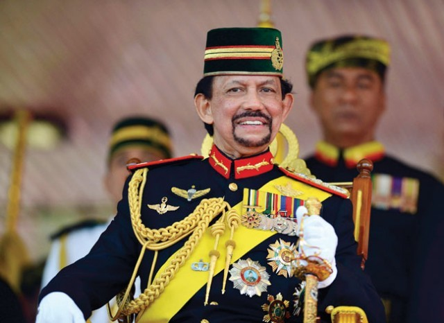 Султан Брунея Хассанал Болкиах находится во Вьетнаме с государственным визитом - ảnh 1