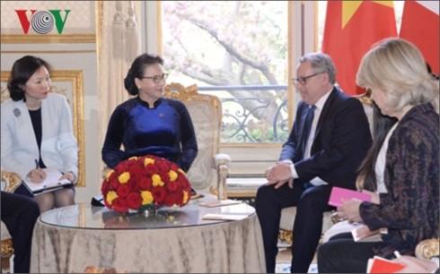 Председатель Национального собрания Вьетнама совершит рабочий визит в Европарламент  - ảnh 1