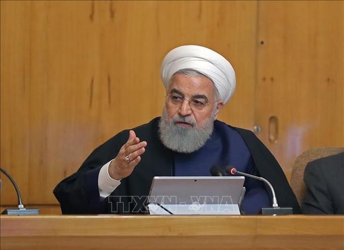 日米外相が電話会談 米 イランけん制の政策を強調か - ảnh 1