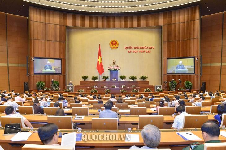 На 7-й сессии НС СРВ был обсужден законопроект об управлении налогами (с изменениями) - ảnh 1