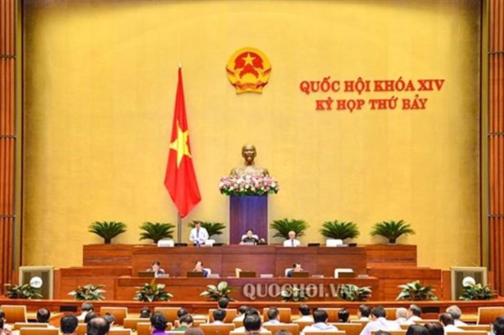 На 7-й сессии Нацсобрания 14-го созыва был обсужден законопроект о госинвестициях (с изменениями)  - ảnh 1