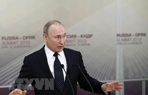 Путин назвал условие отмены санкций против ЕС - ảnh 1