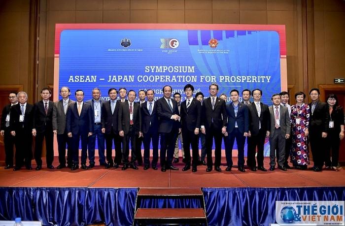 АСЕАН и Япония стремятся поднять отношения на новый уровень - ảnh 1
