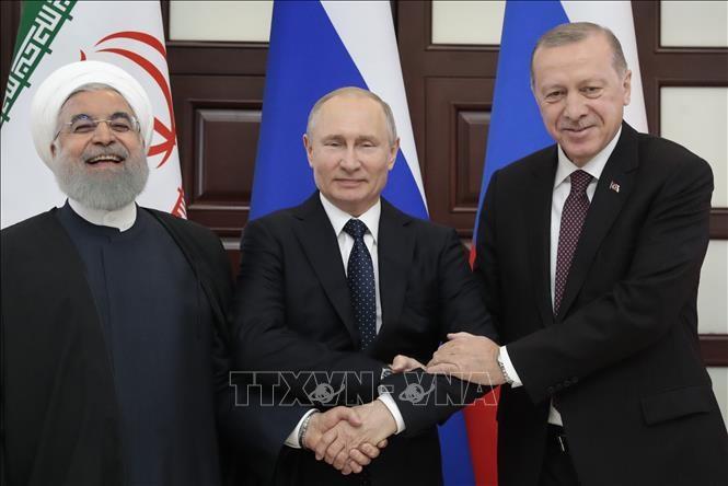 Турция, Россия и Иран проведут новый раунд трехстороннего саммита по Сирии - ảnh 1