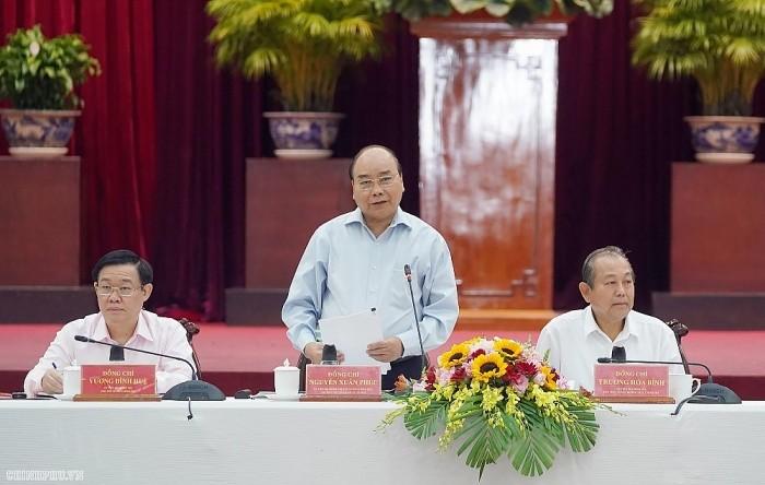 Нгуен Суан Фук: Необходимо обеспечить социально-экономическое развитие и безопасность в дельте реки Меконг  - ảnh 1