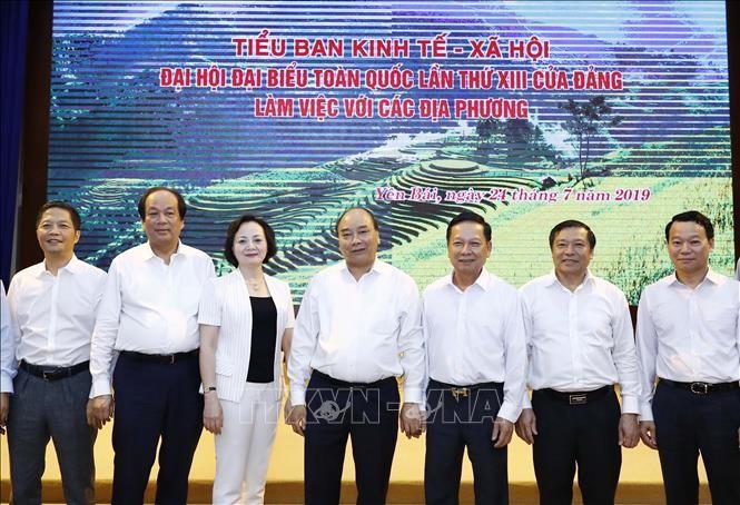 Нгуен Суан Фук провел рабочую встречу с местными властями на севере страны по социально-экономическому развитию  - ảnh 1