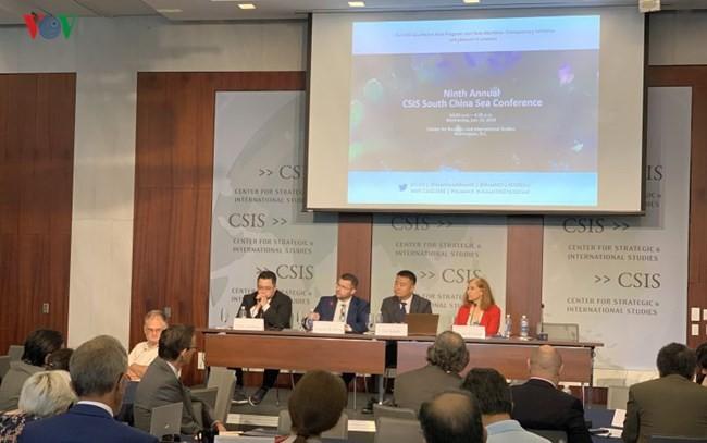 Международные ученые осудили нарушение Китаем исключительной экономической зоны и континентального шельфа Вьетнама - ảnh 1