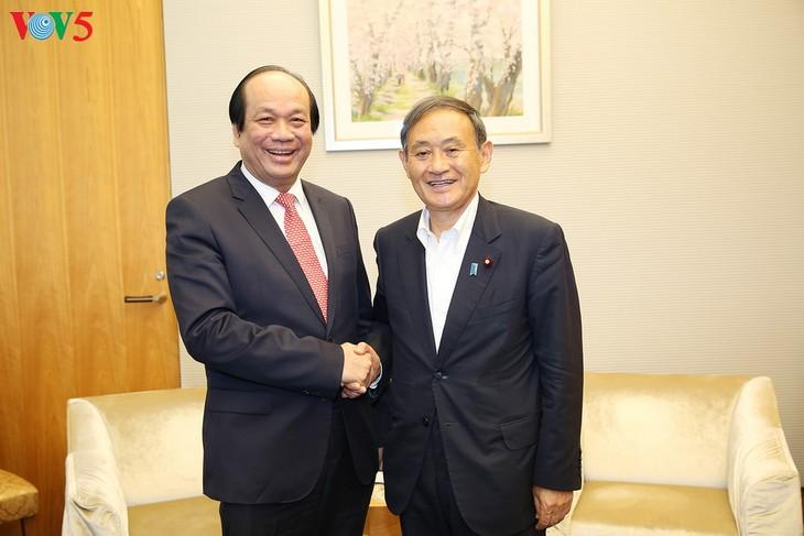 Вьетнам и Япония укрепляют отношения стратегического партнерства - ảnh 1