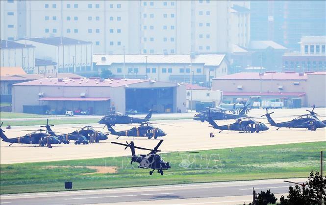КНДР пригрозила Республике Корея расплатой за проведение совместных военных учений с США - ảnh 1