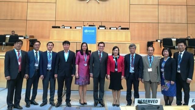 Vietnam menilai tinggi peranan WHO dalam mengembangkan dan membangun kebijakan-kebijakan kesehatan - ảnh 1