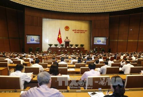 MN Vietnam berbahas tentang RUU mengenai  Pengelolaan dan Penggunaan Senjata, Bahan Ledak dan Alat Penunjang - ảnh 1