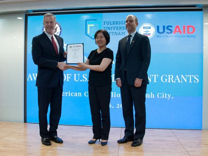 AS memberikan bantuan sebesar 15,5 juta dolar AS kepada Universitas Fulbright Vietnam - ảnh 1