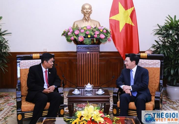 Lebih memperdalam hubungan kerjasama persahabatan tradisional Vietnam-Myanmar - ảnh 1