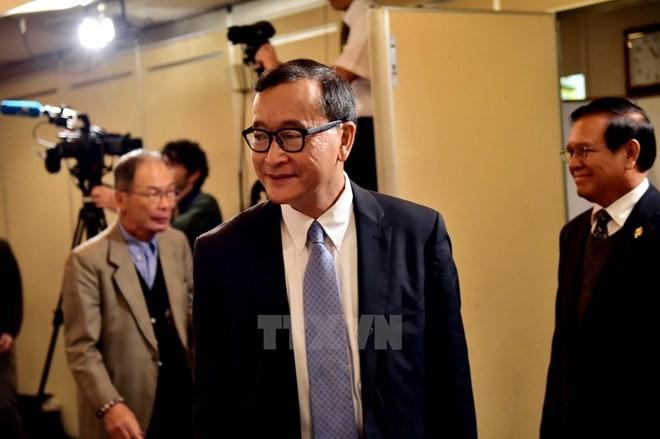 Pemerintah Kamboja membatalkan  perintah melarang pimpinan faksi oposisi  pulang ke Tanah Air - ảnh 1