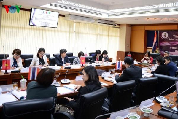 VOV memperhebat kerjasama dengan Direktorat Hubungan Masyarakat Thailand - ảnh 1
