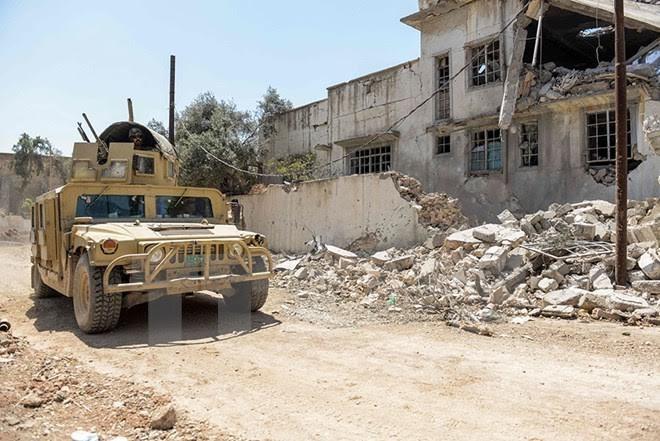 Irak menyerang IS untuk merebut kembali daerah kota kuno Mosul - ảnh 1