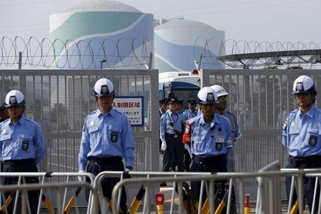 Jepang Untuk pertama kalinya melakukan latihan perang antiterorisme yang menyasar pada basis nuklir - ảnh 1