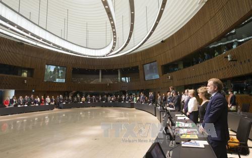 Uni Eropa memperkuat tindakan hubungan luar negeri dalam antiterorisme - ảnh 1