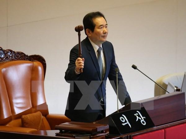 Ketua Parlemen Republik Korea berseru untuk melakukan dialog dengan RDRK - ảnh 1