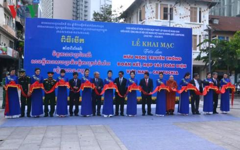 Memperingati ultah ke-50 Hari penggalangan hubungan diplomatik Vietnam-Kamboja - ảnh 1