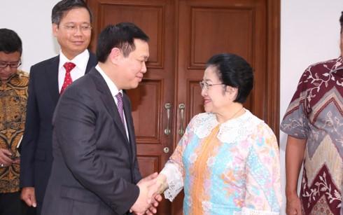 Vietnam dan Indonesia mendorong kerjasama kemitraan strategis - ảnh 1
