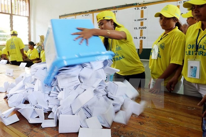 Timor Leste mengumumkan hasil pemilu Parlemen - ảnh 1