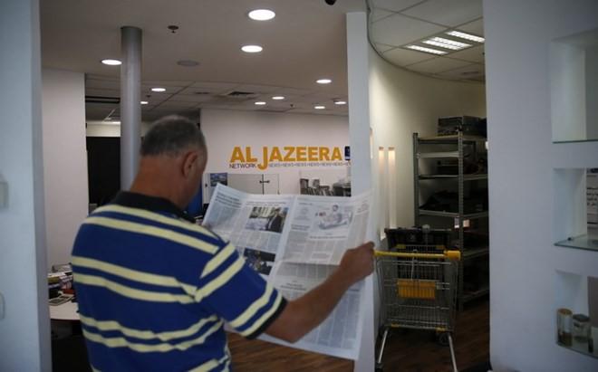 Israel menutup Kantor Perwakilan kanal al-Jazeera - ảnh 1