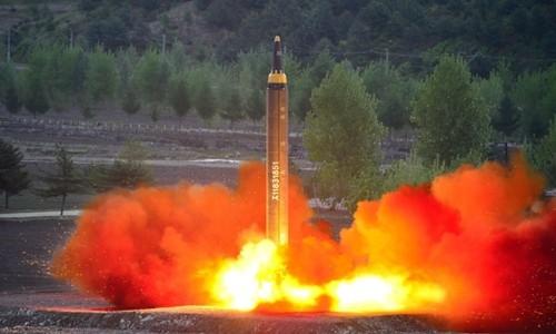 Jepang memprotes uji coba rudal RDRK - ảnh 1