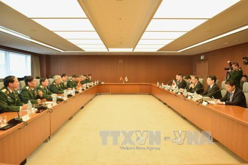 Dialog  ke -5 kebijakan pertahanan Vietnam-Jepang - ảnh 1
