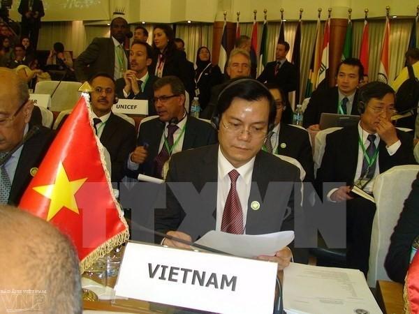 Vietnam berpartisipasi dalam Konferensi Menlu Forum Kerjasama Asia Timur-Amerika Latin - ảnh 1