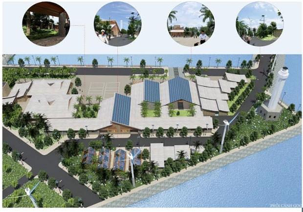 Pekan Arsitektur Hijau Vietnam-tahun 2017 untuk pertama kalinya diadakan di Kota Hanoi - ảnh 1
