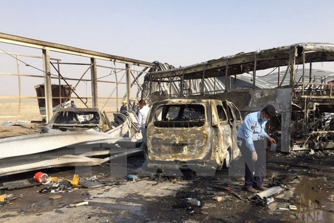 IS bertanggung jawab atas serentetan serangan berdarah-darah baru di Irak - ảnh 1